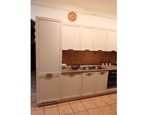 Cucina lineare in legno rovere chiaro Cucina melograni a prezzo scontato