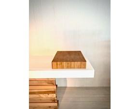 Cucina lineare in legno rovere chiaro Tagliere cucina a prezzo scontato