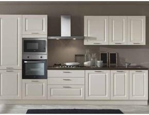 Cucina lineare in nobilitato altri colori Anita l360 h 216 a prezzo scontato