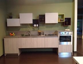 Cucina lineare in polimerico opaco a prezzo ribassato 62%