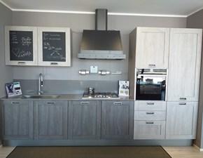 Cucina lineare industriale City Stosa cucine a prezzo scontato