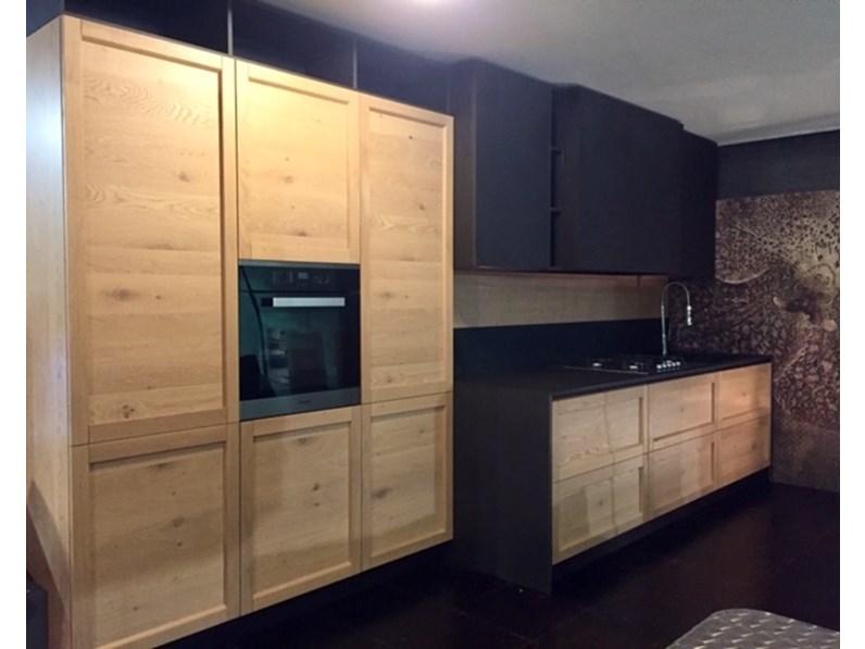 cucina lineare infinity rovere nodato arrex 3 con uno sconto del 50. Black Bedroom Furniture Sets. Home Design Ideas