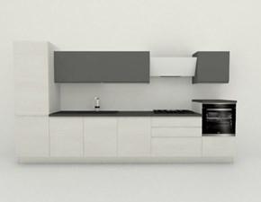 Cucina lineare Jey Creo kitchens con uno sconto del 50%