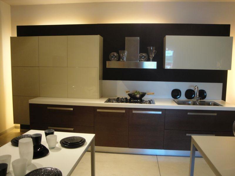Cucina lineare laccata in offerta cucine a prezzi scontati for Cucine in offerta prezzi