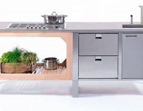 Cucina lineare Lg 1 Artigianale con uno sconto vantaggioso