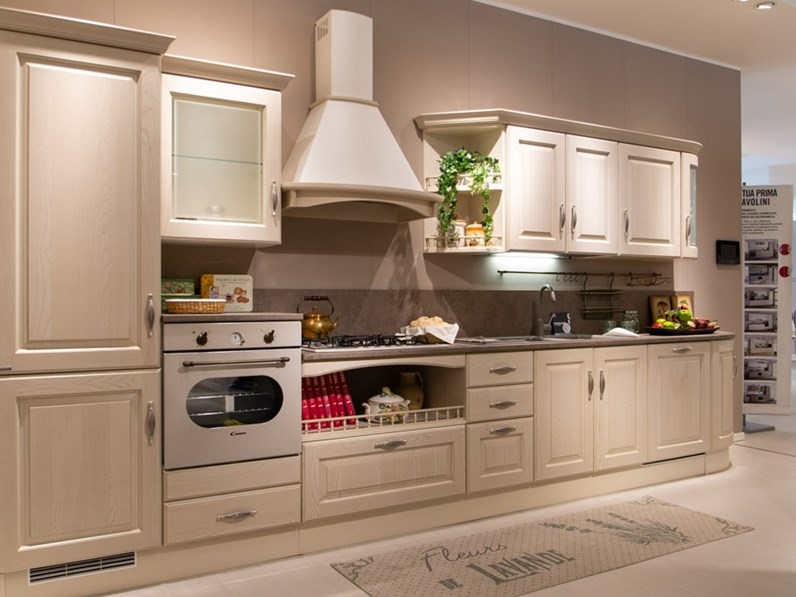 Cucina lineare madeleine outlet for Mondini arredamenti