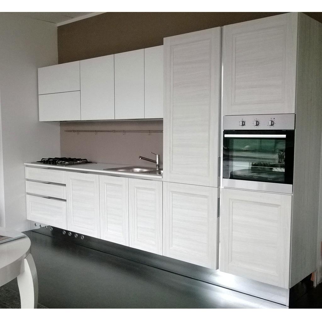 cucina lineare mod wood cucine a prezzi scontati