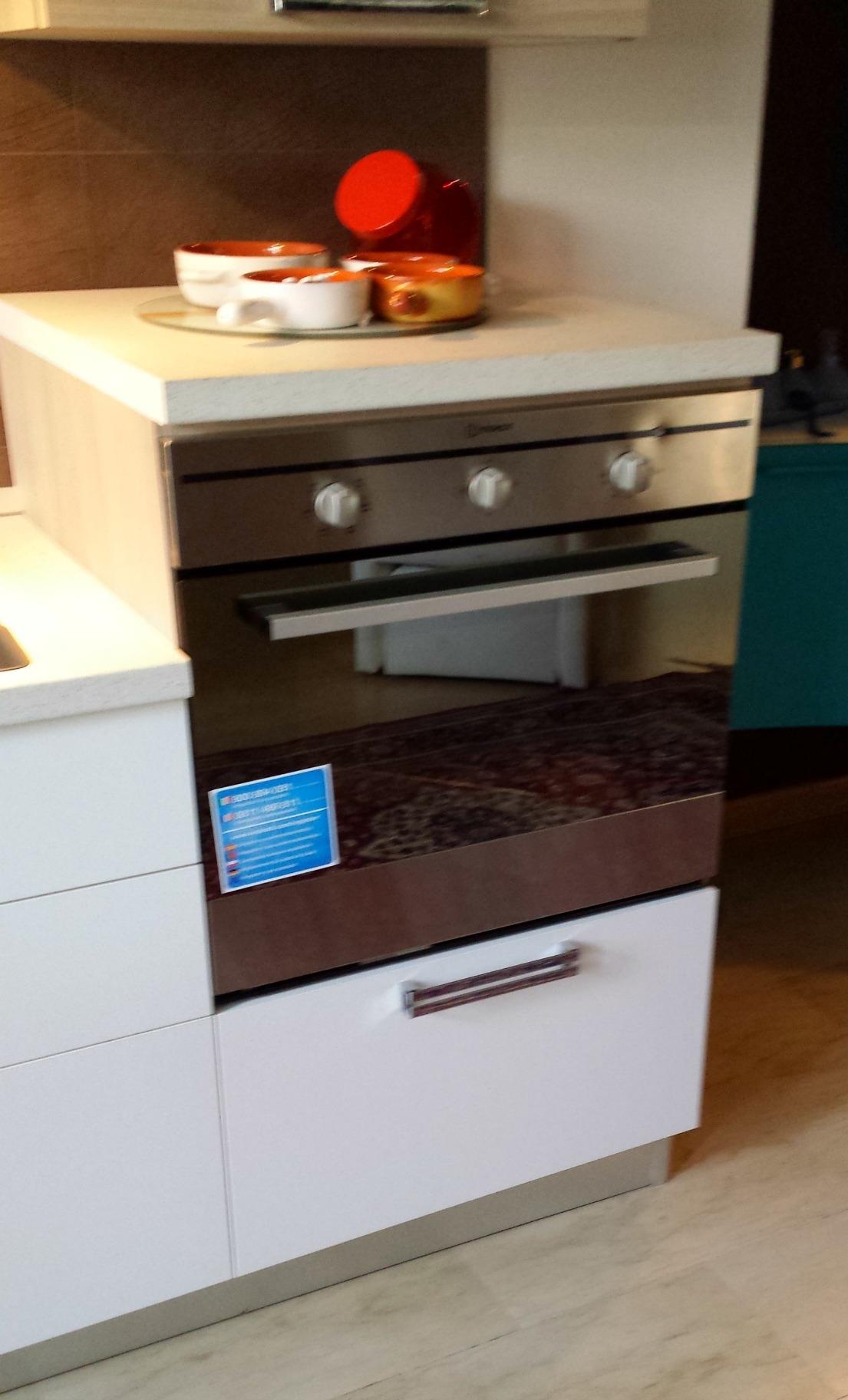 Cucina lineare modello brianza cucine a prezzi scontati for Outlet arredamento brianza
