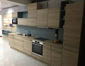 Cucina lineare moderna 371 Riva Nobilia a prezzo ribassato