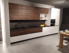 Cucina lineare moderna Alexia Zecchinon a prezzo ribassato