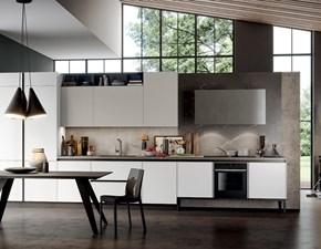 Cucina lineare moderna Aria Arredo3 a prezzo scontato