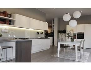 Cucina lineare moderna Carattere Scavolini a prezzo ribassato