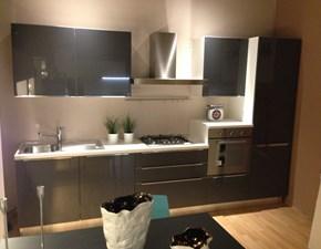 Cucina lineare moderna City Gicinque cucine a prezzo ribassato