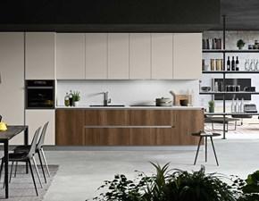 Cucina lineare moderna Comp.2 Antares a prezzo ribassato