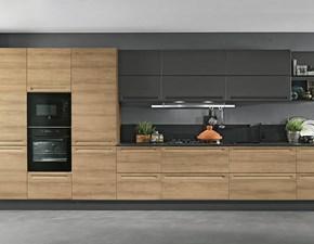 Cucina lineare moderna Componibile Colombini a prezzo ribassato