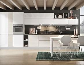 Cucina lineare moderna Componibile Colombini a prezzo scontato
