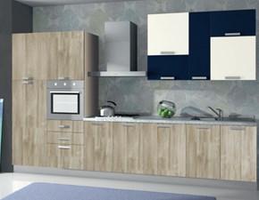 Cucina lineare moderna Composizione da 360- 5 Arrex a prezzo scontato