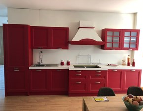 Outlet cucine rossa sconti fino al 70 - Cucina moderna rossa ...