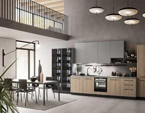 Cucina lineare moderna Cucina mod.sky in laminato di ar.tre cucine in promo-sconto 40% Ar-tre a prezzo ribassato