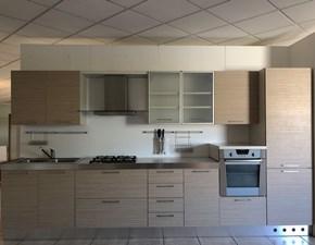 Cucina lineare moderna Cucina moderna  Artigianale a prezzo ribassato