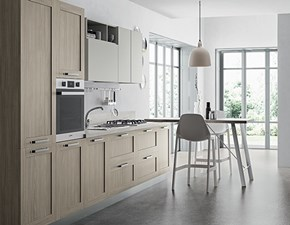 Cucina lineare moderna Domino telaio Primacucine a prezzo ribassato