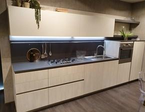 Cucina lineare moderna First Snaidero a prezzo scontato