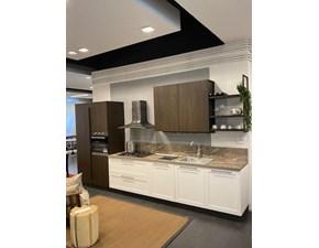 Cucina lineare moderna Frame Arredo3 a prezzo ribassato