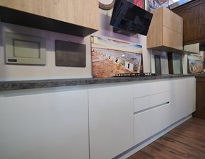 Cucina lineare moderna  gola essential minimal   Nuovi mondi cucine a prezzo ribassato