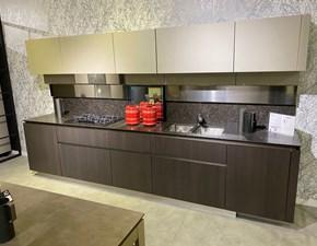 Cucina lineare moderna Idea 40 Snaidero a prezzo ribassato