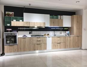Cucina lineare moderna Immagina head Lube cucine a prezzo scontato