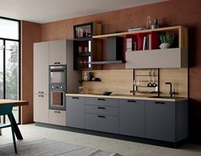 Cucina lineare moderna Ischia Imab a prezzo ribassato