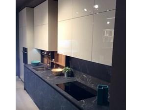 Cucina lineare moderna K5 Artigianale a prezzo ribassato