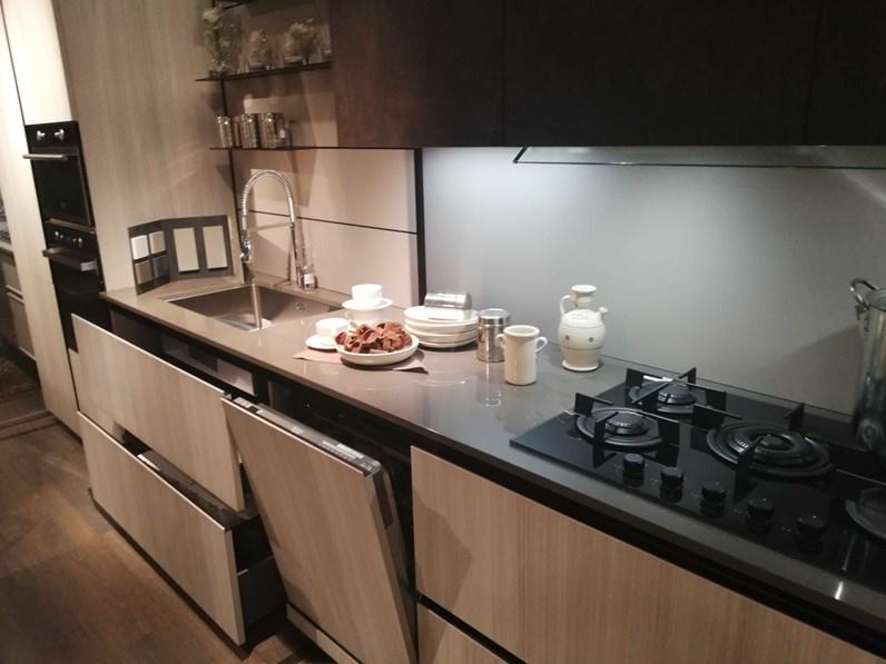 cucina lineare moderna kali 39 zetasei arredo3 a prezzo scontato