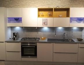 Cucina lineare moderna Laser Nobilia SOTTOCOSTO