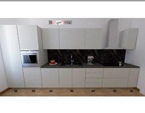 Cucina lineare moderna Line Astra cucine a prezzo ribassato