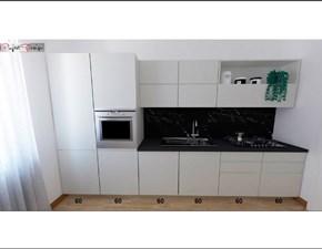 Cucina lineare moderna Line Astra cucine a prezzo scontato