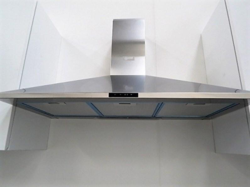 lineare moderna lineare con 4 elettrodomestici in Offerta Outlet