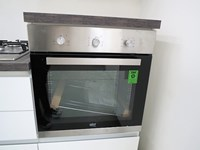 Cucina lineare moderna lineare con 4 elettrodomestici in Offerta Outlet