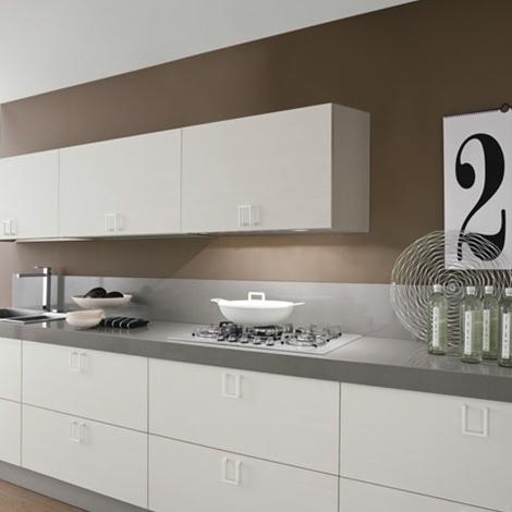 cucina lineare moderna maniglia cromata offerta convenienza