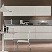 cucina lineare moderna maniglia cromata offerta convenienza cucina ...