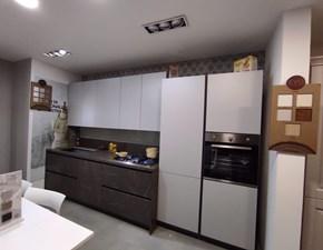 Cucina lineare moderna Materiaprima Axis cucine a prezzo ribassato