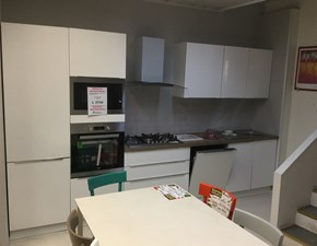 Cucina lineare moderna Mia Net cucine a prezzo ribassato