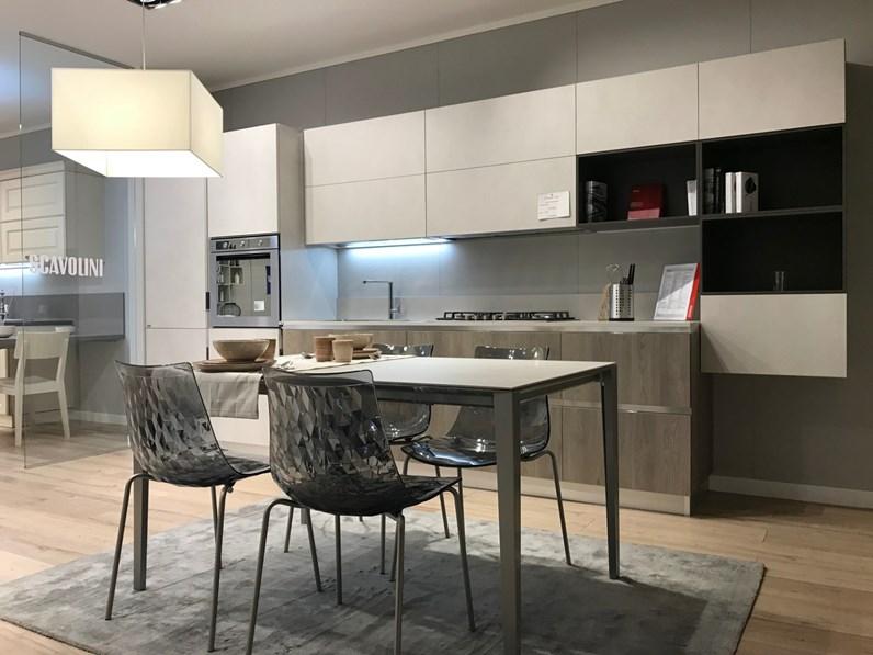 Cucina lineare moderna Mood Scavolini