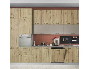 Cucina lineare moderna New smart Net cucine a prezzo ribassato