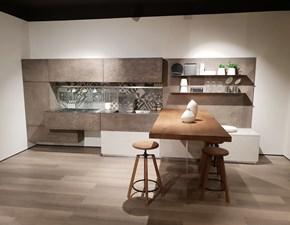 Cucina lineare moderna Oltre Lube cucine a prezzo ribassato