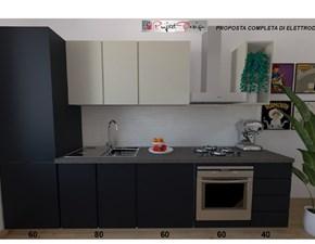 Cucina lineare moderna Sp22 Astra cucine a prezzo ribassato