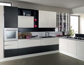 Cucina lineare moderna Vela Astra cucine a prezzo ribassato