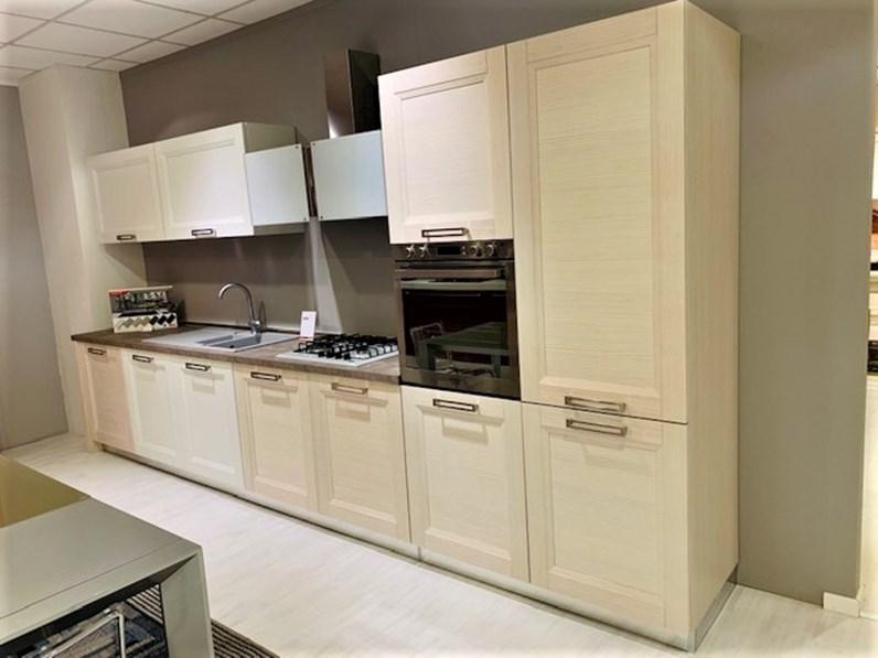 Cucina lineare moderna Zara Record cucine a prezzo scontato