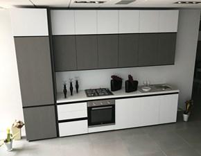 Cucina lineare moderna Zoe Net cucine a prezzo scontato