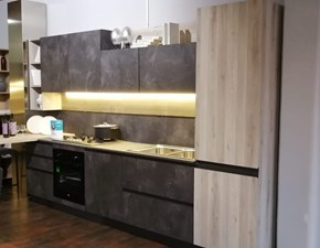 Cucina lineare moderna Zoe Primacucine a prezzo scontato